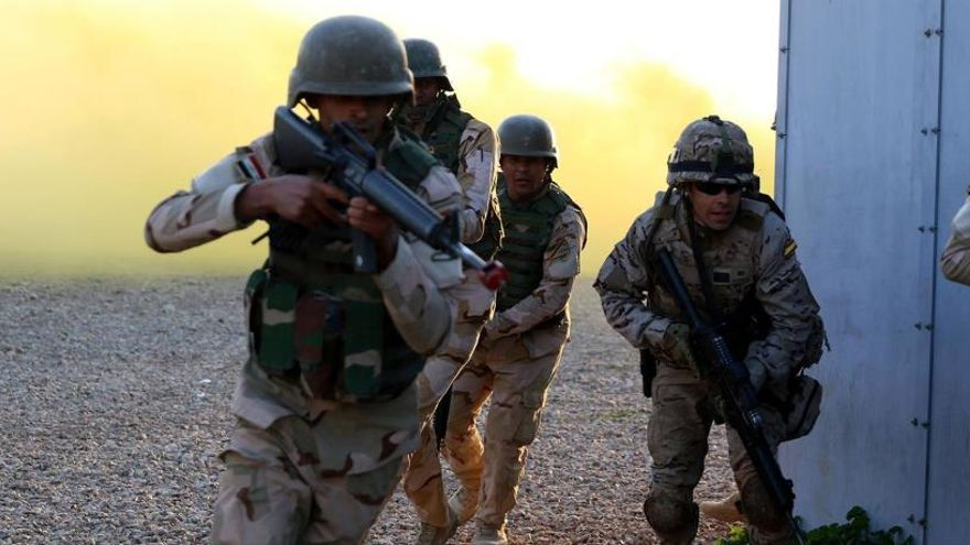 España repatriará parte de las tropas desplegadas en Irak