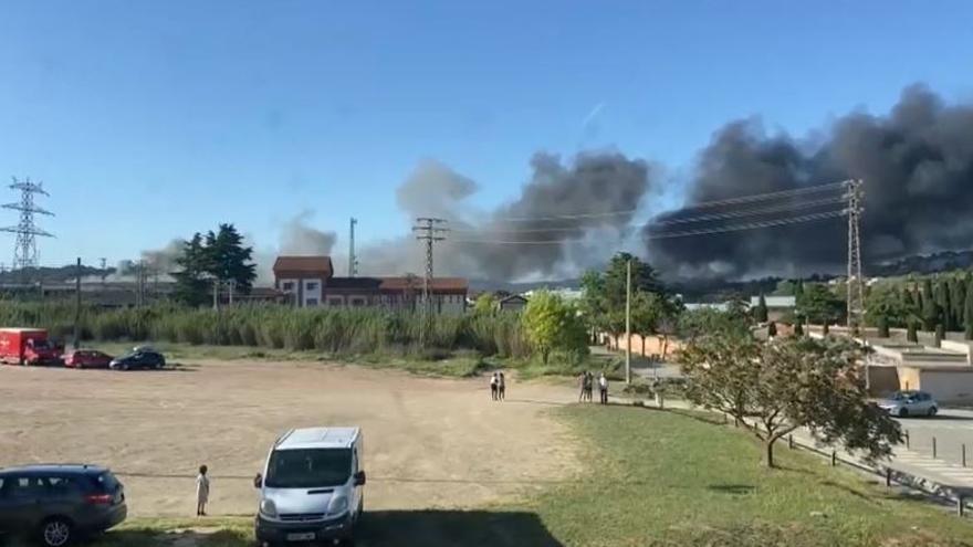 Incendi a la fàbrica Lemmerz de Manresa