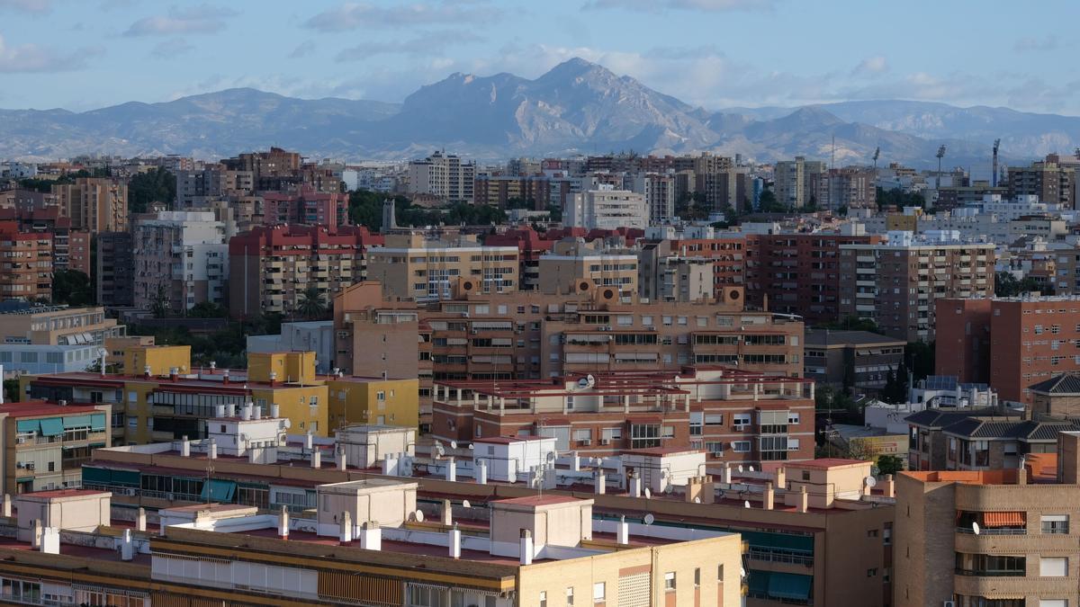 Panorámica de la ciudad de Alicante