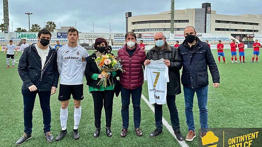 Homenaje a Martínez en Ontinyent