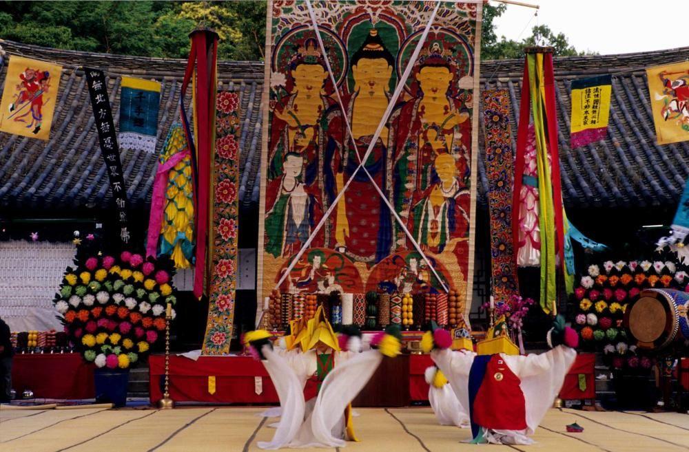 Corea del Sur - El Yeongsanjae, elemento esencial de la cultura budista coreana.
