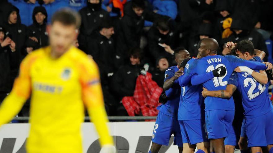 El Getafe golea al Krasnodar en casa