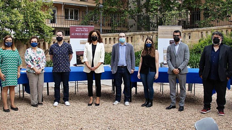 Así fue la presentación de los Premis Mallorca de Creació Literària en los jardines de la Misericòrdia