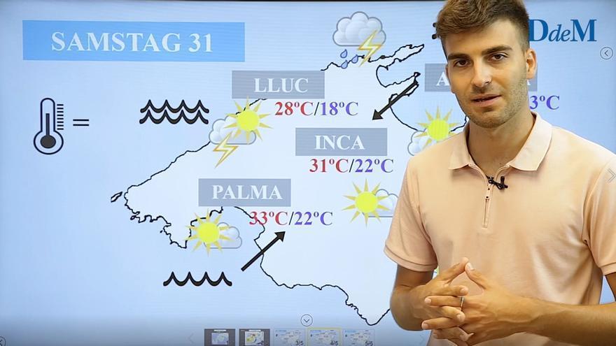 Die MZ-Wettervorhersage für das Wochenende vom 30. Juli bis 1. August