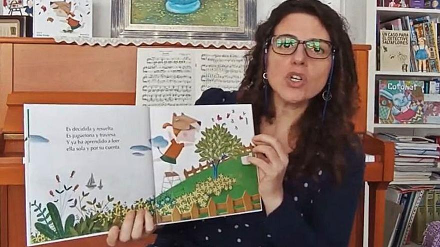 Irene Verdú homenajea al poder de la lectura en su nuevo libro