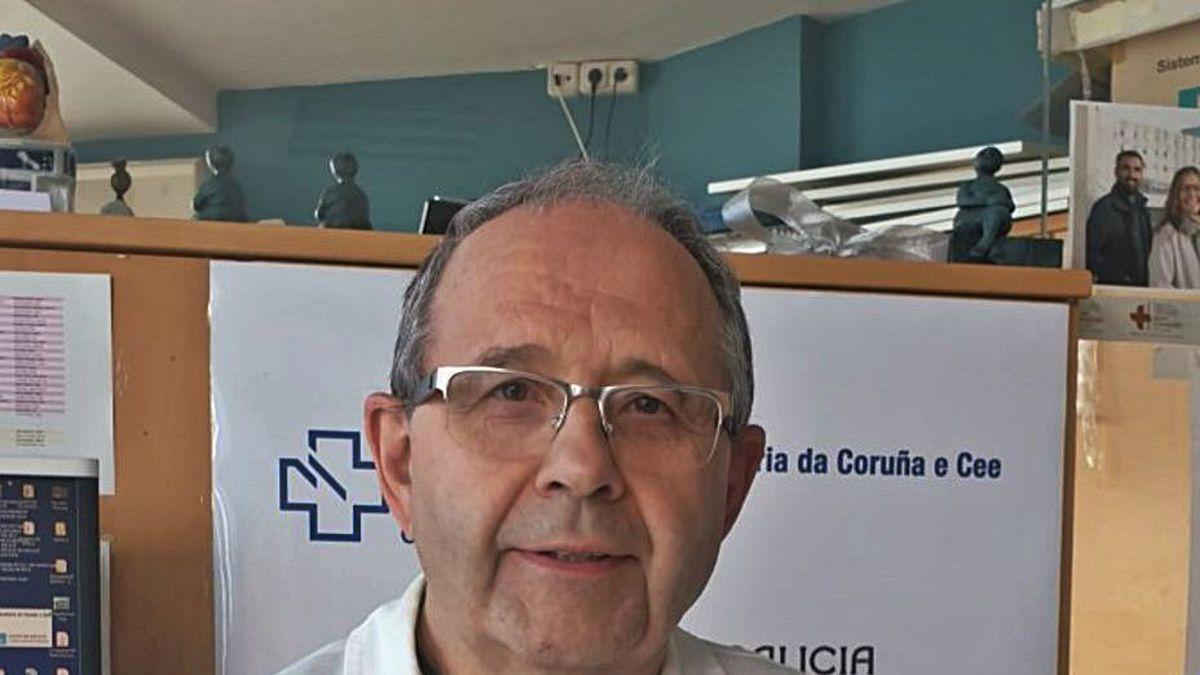 El doctor David Freire.