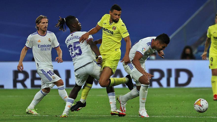 El Villarreal frena la buena racha del Madrid