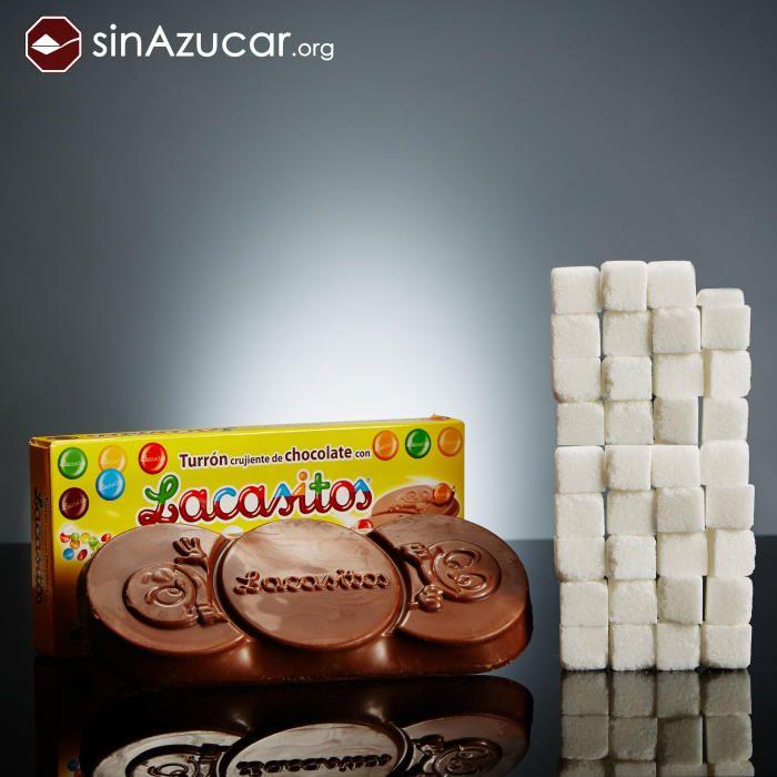 Aquest és el sucre que contenen els productes que consumim