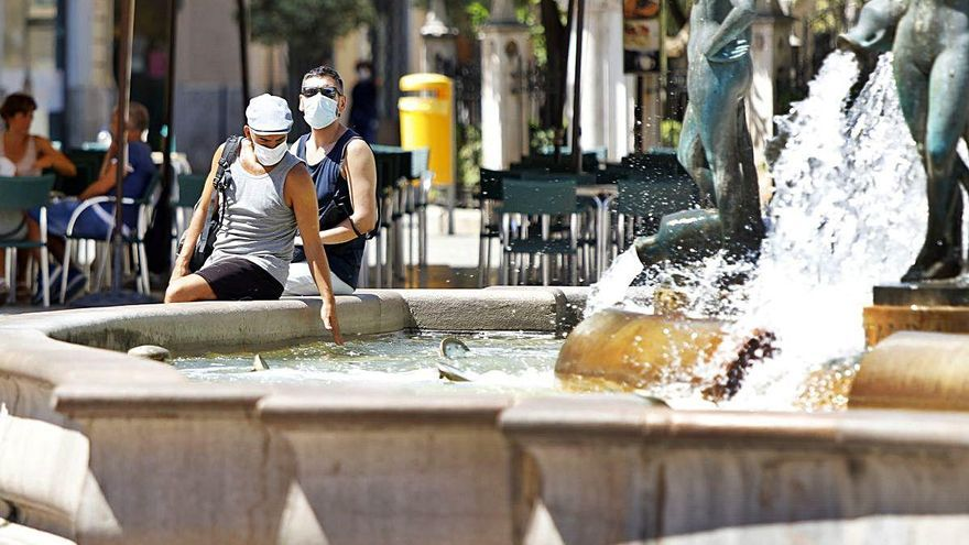 Dónde se registraron las temperaturas más altas en la Comunitat Valenciana