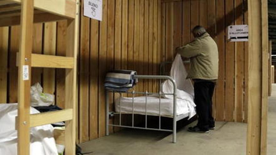 179 persones sensesostre s'han allotjat al Palau de Fires