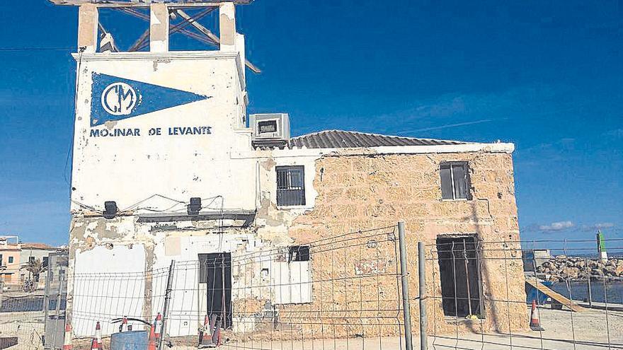 Arranca la remodelación del edificio del Club Marítimo del Molinar