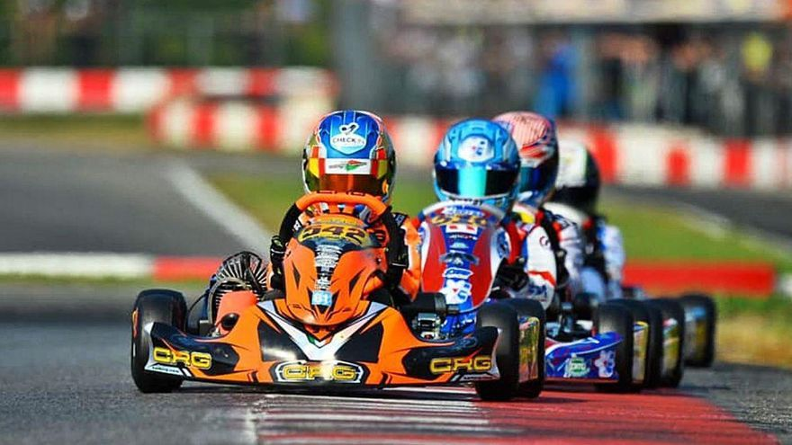 Christian Costoya saldrá tercero en las dos finales de Lonato