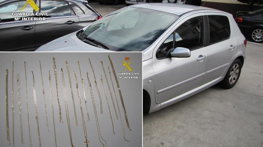 Detenido tras robar más de 20.000 euros en una joyería en A Cañiza