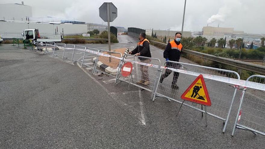 Urgen reabrir el puente que une áreas de Xilxes y de Moncofa