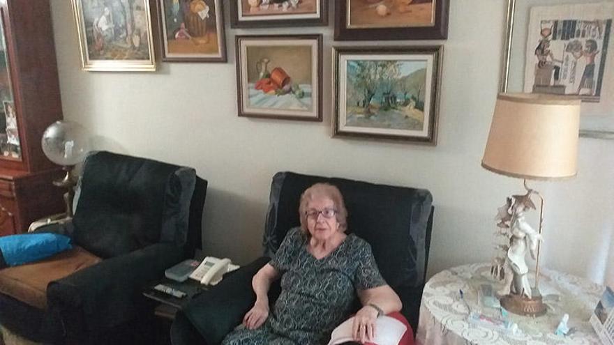 Valentina Martí, la centenaria que venció a la pandemia