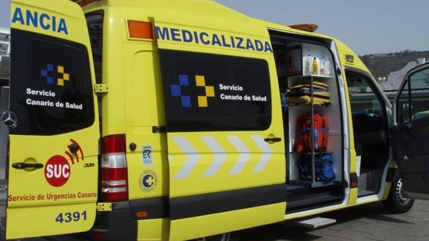 Fallece un motorista tras sufrir una caída en Tenerife