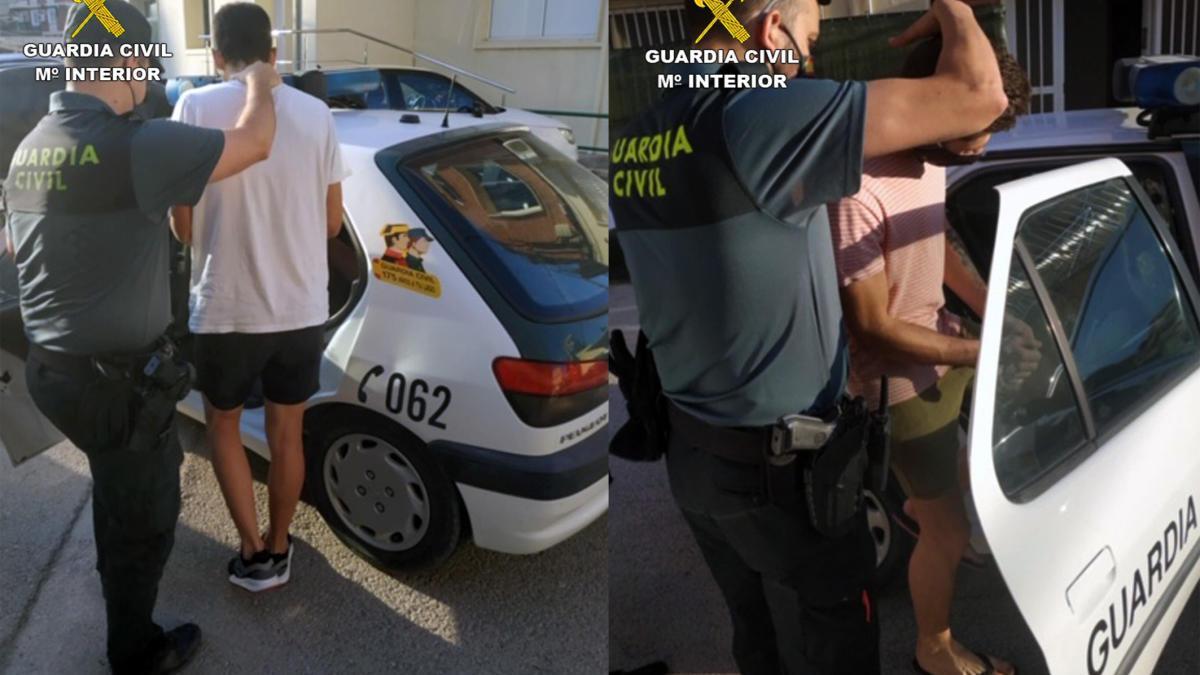 Cazados cuando huían tras robar en una casa de Cehegín