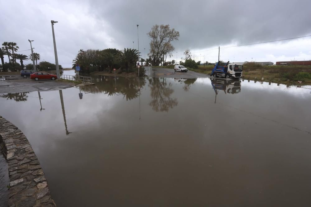 Lluvias torrenciales en Sagunt