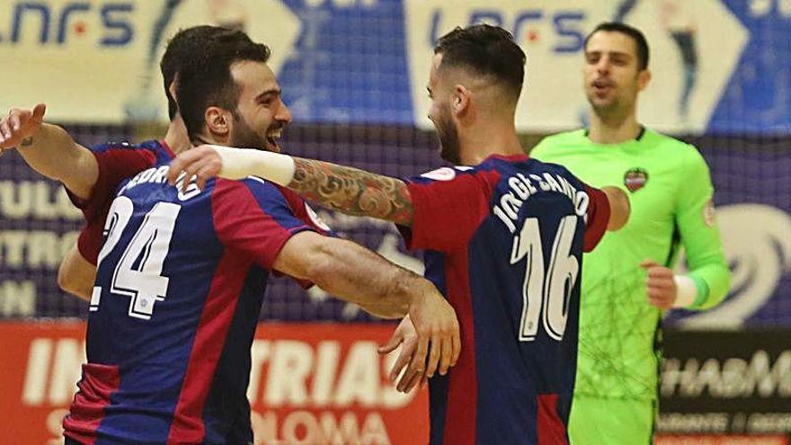 El Levante UD FS afina para el asalto a la Copa de España