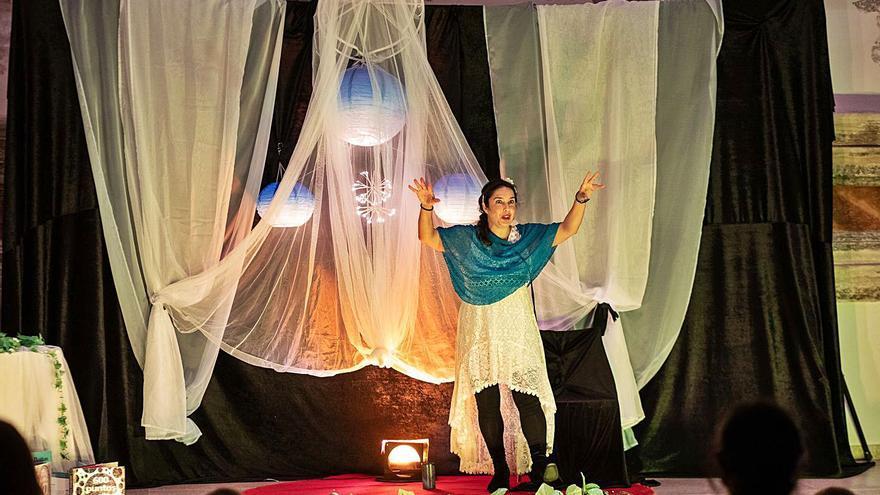 Charo Jaular transporta al público zamorano hacia los sueños