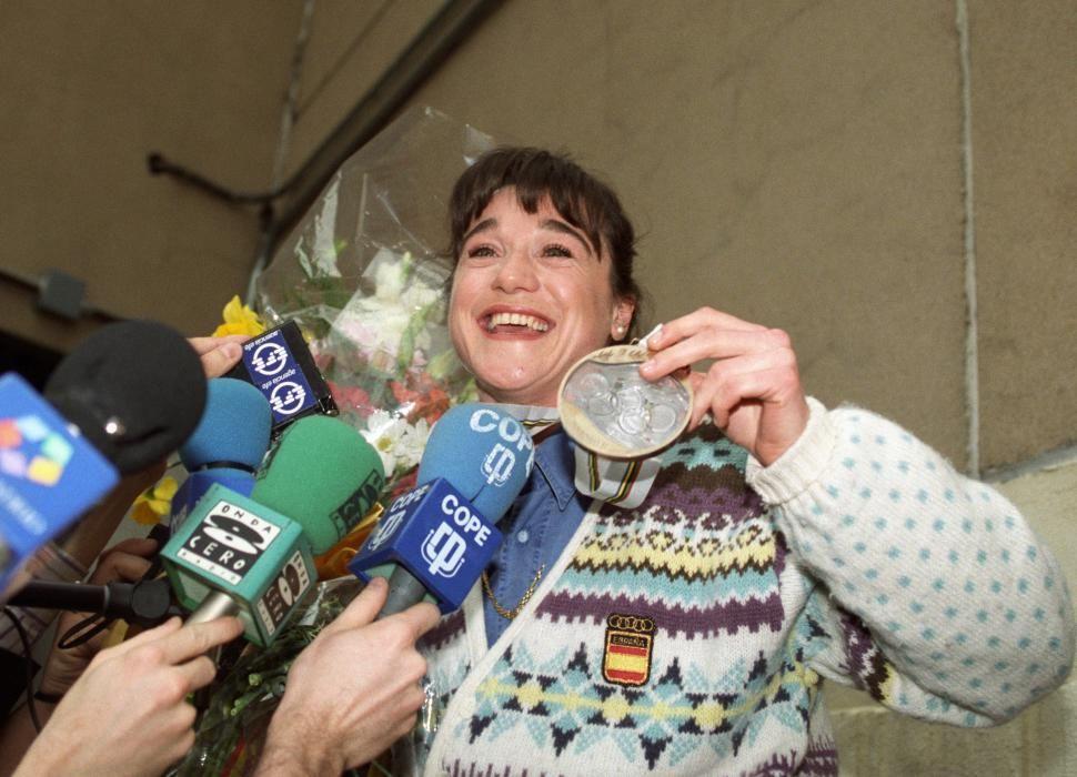 Blanca Fernández Ochoa llega a España tras los ...