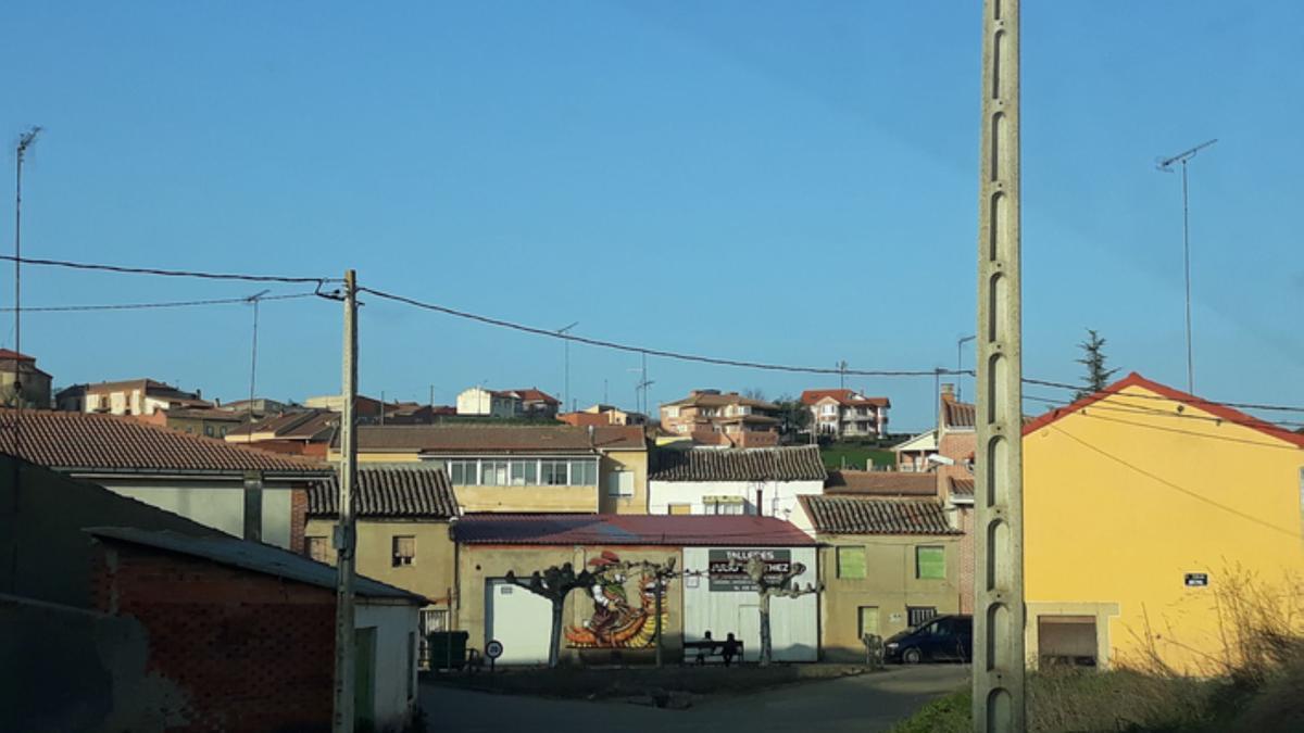 Casco urbano de Castrogonzalo. | E. P.