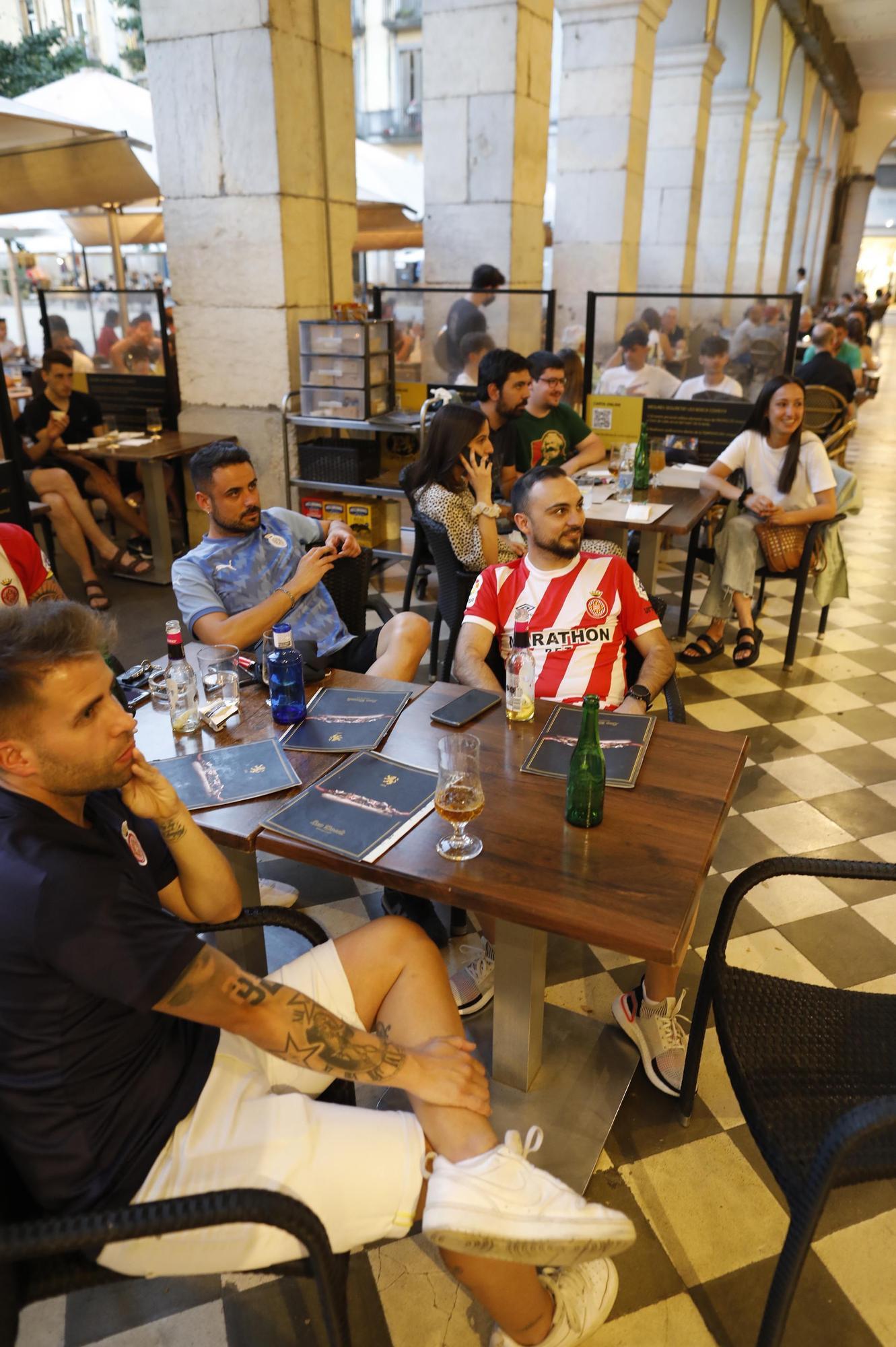 La ciutat vibra amb el Girona