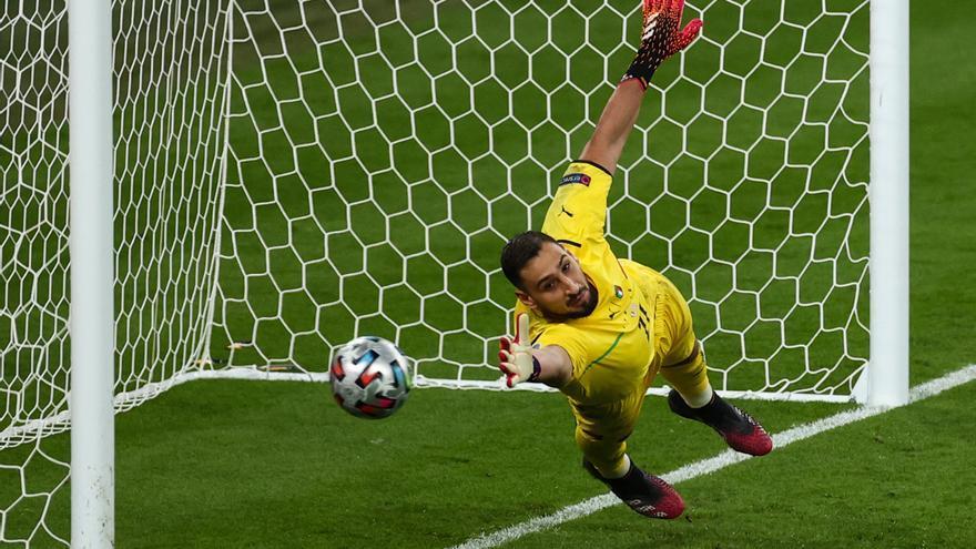 Donnarumma, elegido mejor jugador de la Eurocopa
