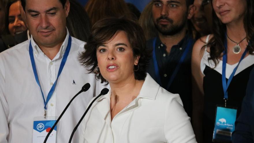 El Govern nomenarà aquest divendres Sáenz de Santamaría consellera al Consell de l'Estat
