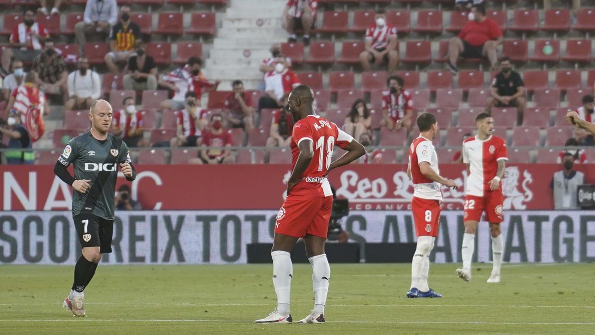 Girona FC - Rayo Vallecano, en imatges
