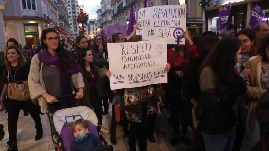 8-M   Manifestación por la igualdad en Málaga