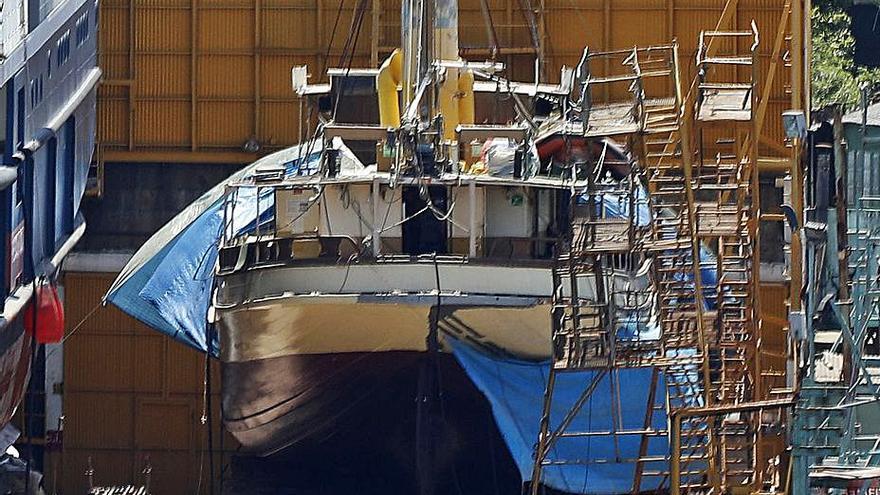 El retorno de un clásico de vapor a Vigo