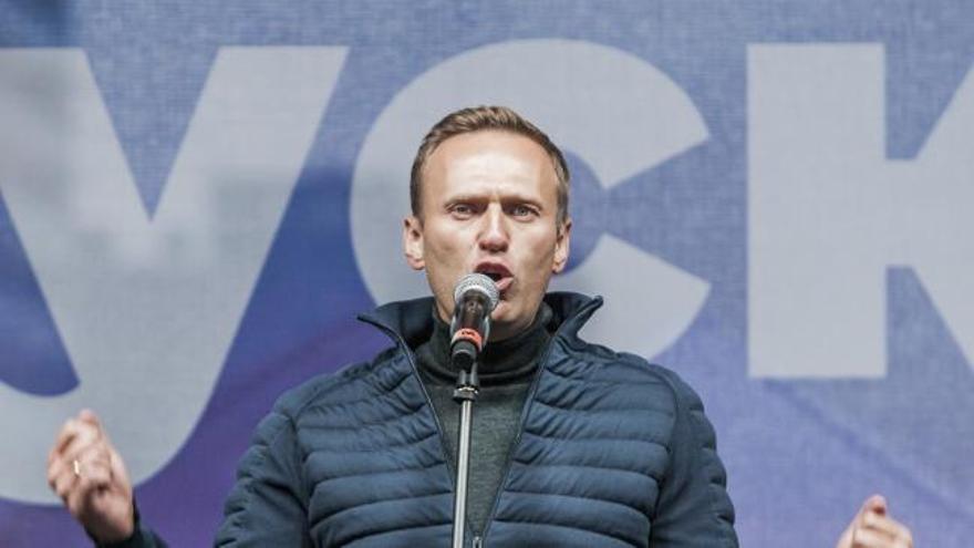 Navalni sale de la clínica alemana donde se ha recuperado de su envenenamiento