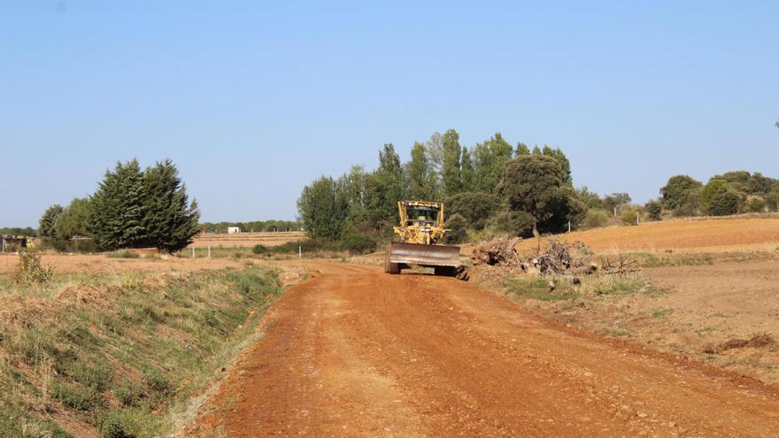 Los caminos rurales de Zamora recibirán 150.000 euros de la Diputación