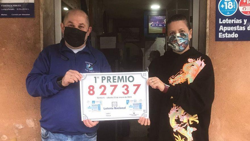 La Lotería Nacional deja en Tuilla un premio de 100.000 euros