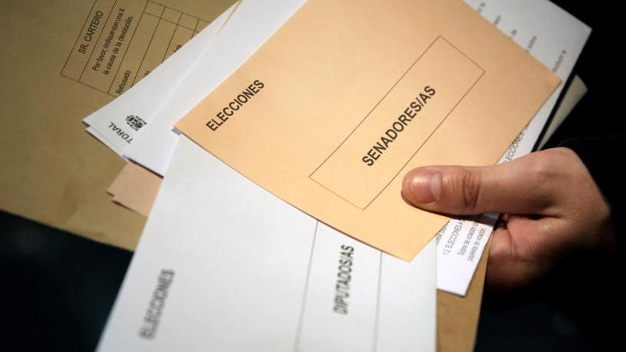 Comienza el plazo para recibir el voto por correo