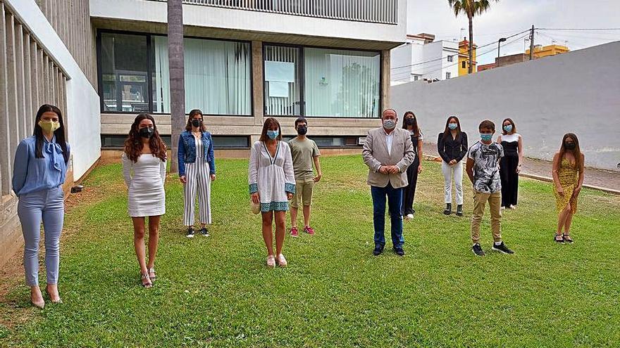 El Sauzal reconoce el esfuerzo de los mejores alumnos de Bachillerato