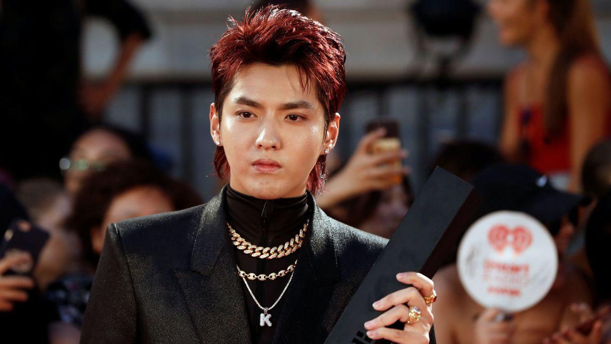 L'estrella del K-Pop Kris Wu