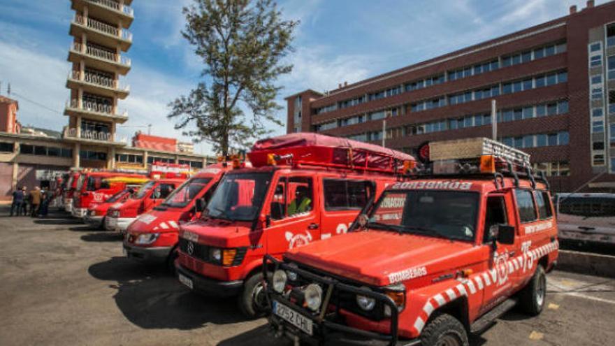 Las intervenciones de bomberos bajan un 2,3% en Tenerife