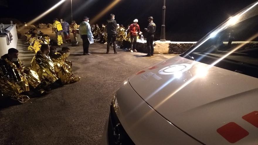 Rescatadas 5 embarcaciones con 166 inmigrantes en Lanzarote y Fuerteventura
