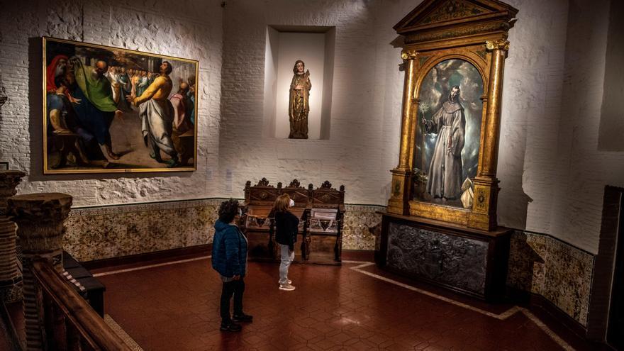 El Greco admiraba a Tiziano y a Tintoretto, y a Miguel Ángel como arquitecto