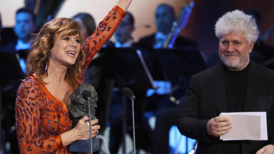 Emma Suárez, Goya a la mejor actriz