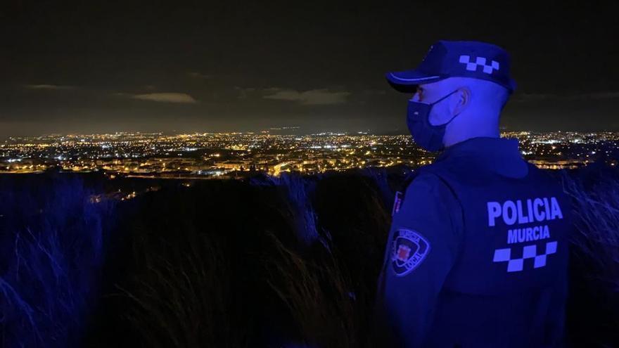 Dos detenidos en Alcantarilla tras una persecución policial más de 40 kilómetros