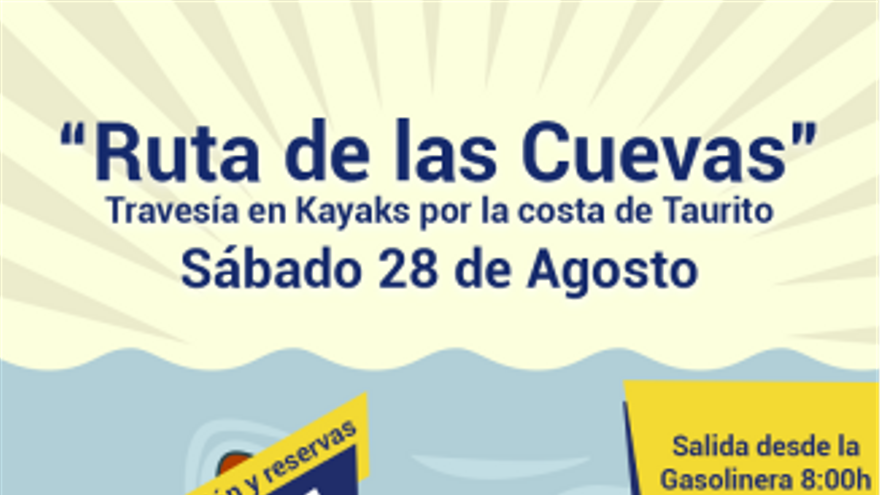 Excursión Ruta de las Cuevas (Kayak)