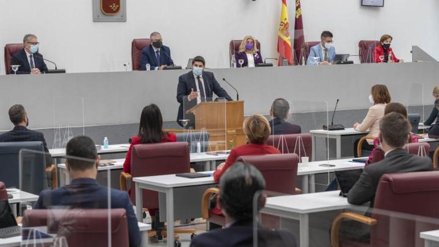 Sigue en directo la sesión de control al Gobierno regional