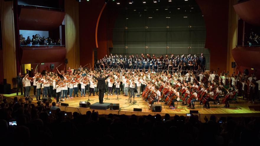 Concierto de Barrios Orquestados en el Auditorio Alfredo Kraus