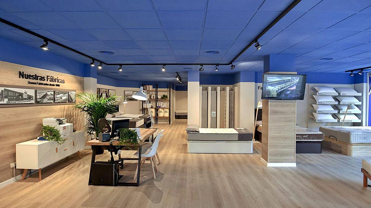 Interior de uno de los establecimientos Dormitienda. | LEVANTE-EMV