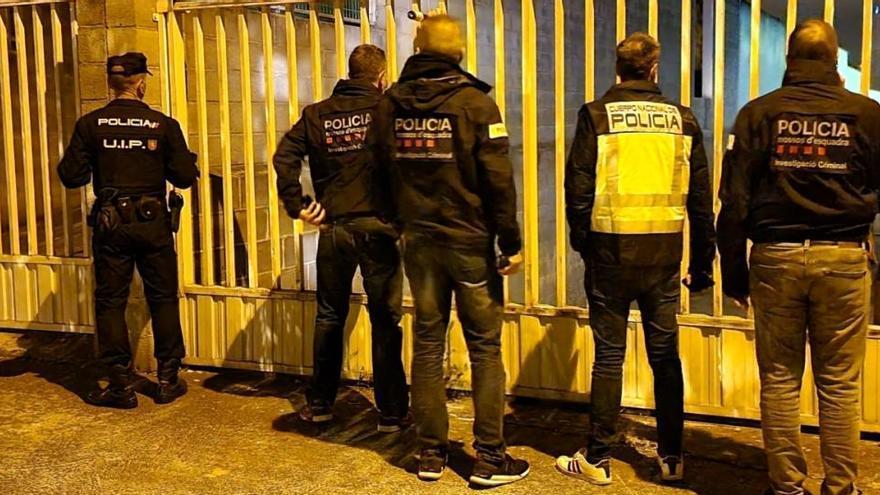 Sis detinguts a Manresa en un cop contra una màfia xinesa de tràfic de drogues