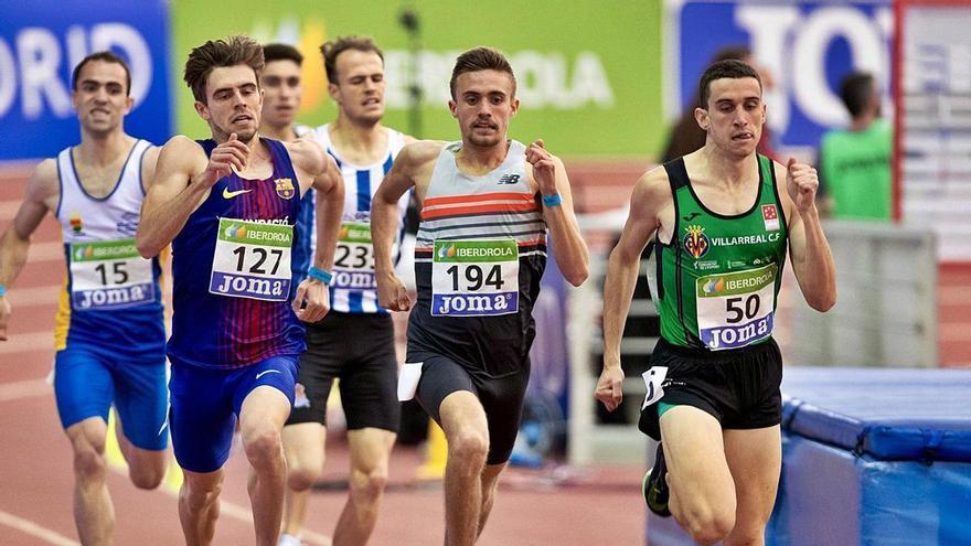 Javier Mirón Caro: El atleta de elite que se recorre la provincia para entrenar