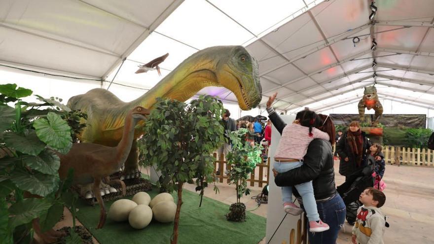 Los dinosaurios vuelven a Palma